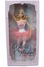 Barbie Beautiful Ballet Wishes BALLERINA BARBIE COLLECTOR PINK LABEL NIB