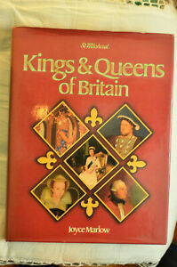 St Michael Kings and Queens of Britain, Joyce Marlow, Artus 1979 Hardback