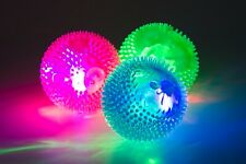 ANCOL,DOG TOY. SQUEAKIN. FLASHING BALL, DOG PLAY BALL, LED FLASHING DOG BALL.