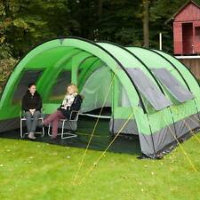 skandika Helsinki 6 Person/Man Family Tent 5000mm Column Optional Porch Area New