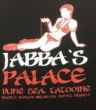 Jabba's Palace Slave Leia T Shirt Xl Black Star Wars