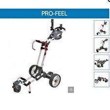 Chariot électrique de golf PRO FEEL TROLEM TELECOMMANDE BATTERIE LITHIUM