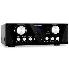 Home audio stereo Hi-Fi Amplificatore Karaoke 2 x Mic in100w EQ UK OFFERTA