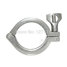 2 Tri Clamp Clover For 64mm Od Ferrule Stainless Steel Ss Sus 304