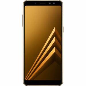 Samsung Galaxy A8 (Dual Sim) - 32GB - Gold (UNLOCKED/SIMFREE) Grade A
