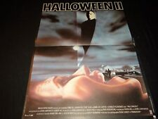 HALLOWEEN II  !  john carpenter   affiche cinema epouvante