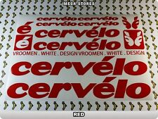 CERVELO Stickers Decals Bicycles Bikes Cycles Frames Forks Mountain MTB BMX 57LE