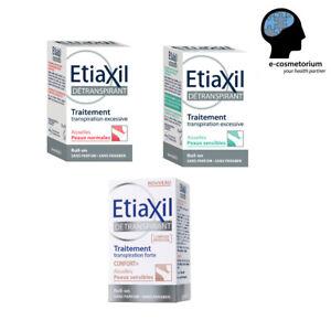 Etiaxil Roll-On Antiperspirant SENSITIVE/NORMAL/CONFORT+  15ml