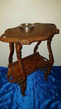 Alter Rauchertisch Beistelltisch Kunststoff Vintage Smoking Table  Mid Century