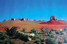 Reptile Terrarium Decoration Background Poster Double Sided Landscape by TRIXIE