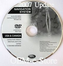 2007 2008 Range Rover Sport HSE & Supercharged GPS Navigation DVD Map U.S.Canada