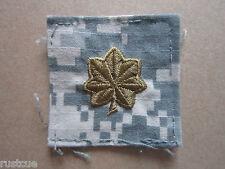 US Military Major Acu Rank Cloth Patch Badge