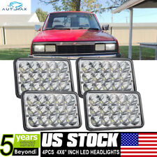 4X LED Headlights For Kenworth T400/800 T600 W900L 4x6'' Light Hi/Lo Sealed Beam
