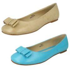 Zapatos planos de mujer manoletinas color principal azul