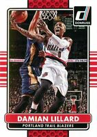 Damian Lillard 2014-15 Donruss Basketball Base Card #129 Portland Trail Blazers
