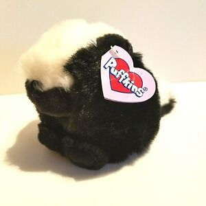 Swibco Collection Puffins Odie the Skunk Plush Stuffed Animal Toy 1994 Plushie