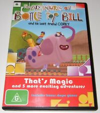 The Adventures Of Bottle Top Bill - That's Magic (DVD, 2007)