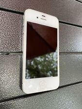 Apple iPhone 4- 8GB - White (Unlocked) A1387 (CDMA + GSM)