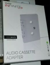Vivitar audio cassette adapter. Cd, mp3, play devices thru you car tape player
