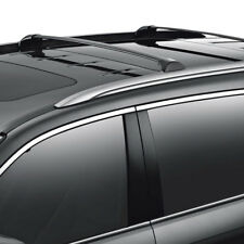 2x Aluminum Roof Rack Rail Cross Bars Cargo Carrier Black For 14-18 Acura MDX