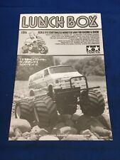 Tamiya Not Vintage Lunchbox Build Manual Instructions Tc Car Ban Spares Vgc