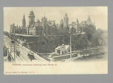 pk45425:Postcard-Parliament Buildings from Rideau Street,Ottawa,Ontario