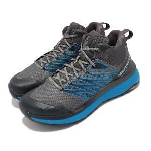 Merrell Rubato Mid GTX Gore-Tex Grey Blue Men Outdoors Hiking Shoes J135331