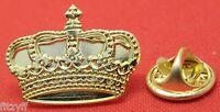 Royal Crown Lapel Hat Tie Pin Badge England UK GB London Gift Souvenir Brooch