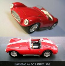 MASERATI A6 GCS Street 1956 1/43 sigillata con base - new, unopened with plinth