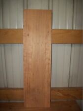 "1 PC RUSTIC CHERRY WOOD WIDE KILN DRIED 7/8"" THICK LOT 115W  WIDE FLAT BOARD"