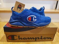 Champion 93 Eighteen Suede Surf Blue Gum Casual Shoes Mens Size 12 NEW