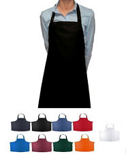 1  NEW COOK BAKING CHEF BUTCHER KITCHEN BIB APRONS 8 COLORS BUY 6 GET 1 FREE
