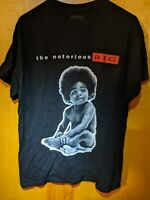 The Notorious BIG Mens Size M Large Hip Hop Tee Shirt T-shirt Rap Biggie Smalls