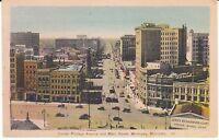 """Corner of Portage Avenue & Main Streets, Winnipeg, Manitoba, Canada""  Postcard"