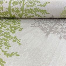 Diamond Tree Wallpaper Green - Arthouse 259000 Glitter Forest
