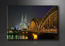 Bilder auf Leinwand Köln 120x80cm XXL 5075 _ Alle Wandbilder fertig gerahmt