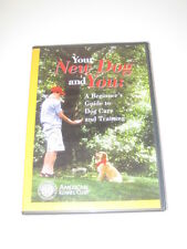 Your New Dog and You: A Beginner's Guide to Dog Care & Training DVD NEW AKC