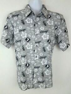 Chicago White Sox Gray Hawaiian Shirt Medium and XL SGA 7/1/17 Free Shipping