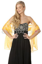 Silky Iridescent Wrap Stole Shawl For Weddings Bridal Bridemaids & Evenings Wear