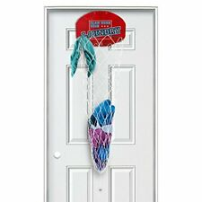 Over the Door Dunk Your Laundry Hamper Basketball Shoot with Net