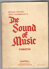 Howard Linsay & Russel Crouse The Sound of Music 1st Ed 1960