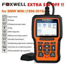 For BMW Foxwell NT510E OBDII Car Code Reader ABS SRS EPB Engine Diagnostic Tool