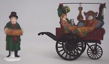 "The Heritage Village Collection ""Chelsea Market Curiosities Monger & Cart"" #5827"