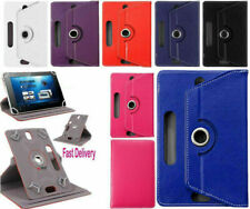 """Huawei MediaPad T5 Lite 10.1"""" Pulgadas/7""""/8 pulgadas Tablet Funda Giratoria De Cuero"""