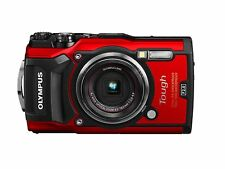 Olympus tg-5 Tough Rouge tg5 sous l'eau caméra 15 m NEUF Outdoor du revendeur