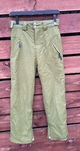 Billabong Girls Green Snow/Ski Pants Size M