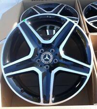 New 20 Mercedes Benz Amg Ml Gl450 Gle350 Gle450 Oem 20 Wheels Rims Black