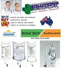 SALINE SODIUM CHLORIDE 0.9% BAXTER VIAFLEX BAG 50 -2000mL INTRAVENOUS SOLUTION