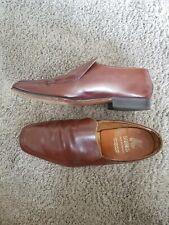 Mens K Shoes Vintage Tan Leather Soles Size 8