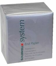 GOLDWELL SYSTEM END PAPER  500 PAPERS IN BOX NEW FREE P&P